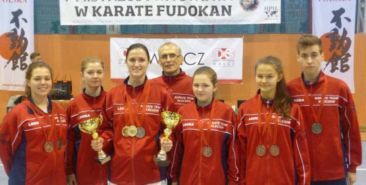 Karate UKS Kleczew - nowy rok, nowe barwy
