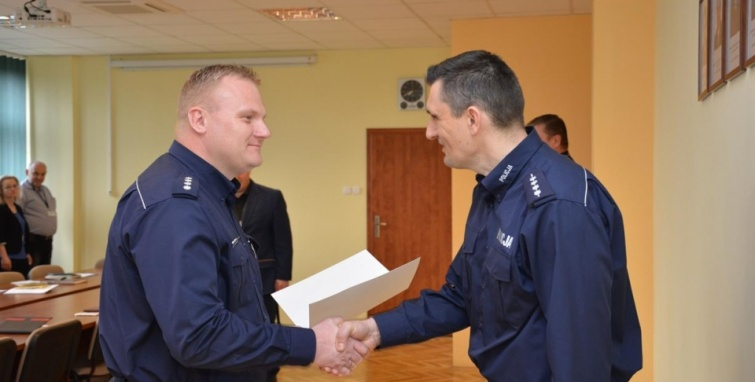 Nowy kierownik prewencji w Kleczewie