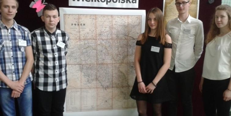 Sukcesy gimnazjalistów w Konkursie Wiedzy o Wielkopolsce