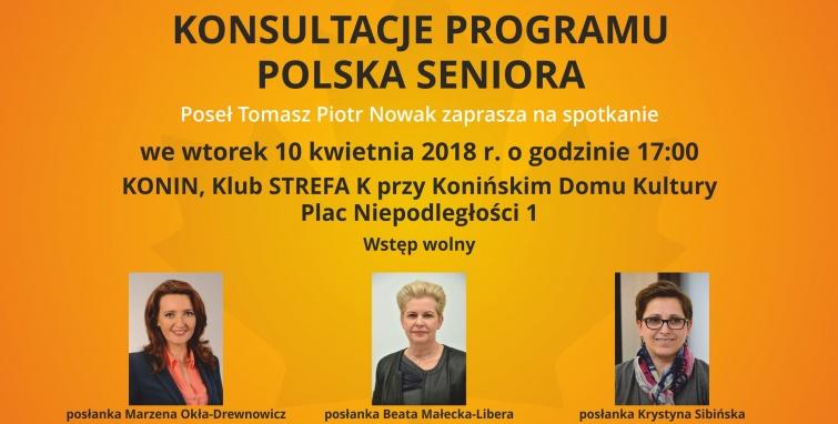 Spotkanie konsultacyjne dotyczące programu Polska Seniora