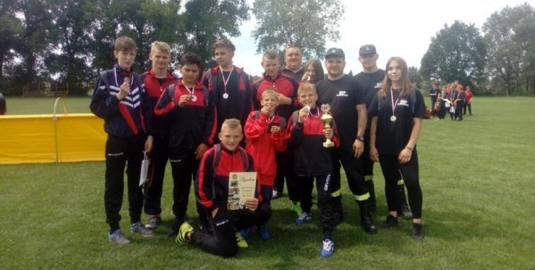Sukces Młodzieżowych Drużyn Pożarniczych Gminy Kleczew