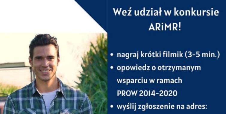 """""""Zostań Twarzą PROW 2014-2020"""" - konkurs dla rolników"""