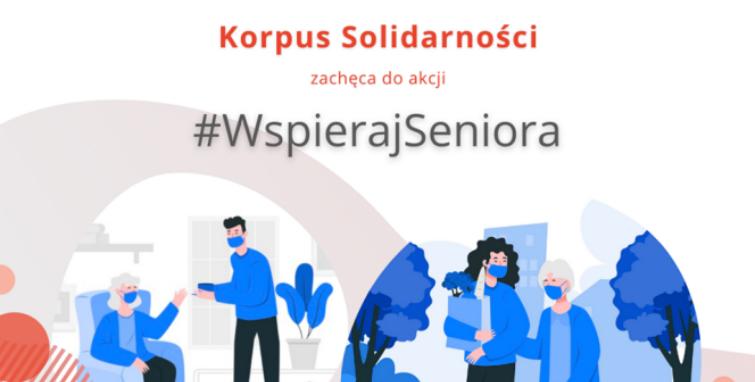 Wspieraj seniora, przyłącz się do akcji