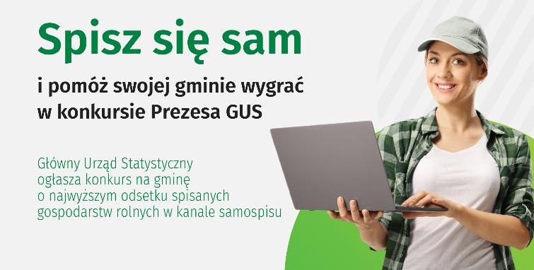 Konkurs Prezesa GUS na gminę o najwyższym odsetku spisanych gospodarstw w kanale samospisu