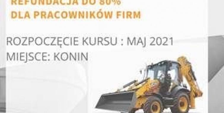 Nabór na refundowany kurs operatora koparko-ładowarki