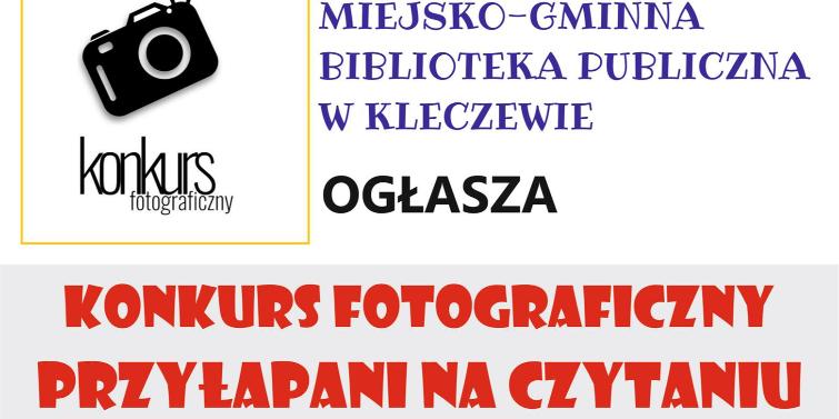 Przyłapani na czytaniu - konkurs fotograficzny