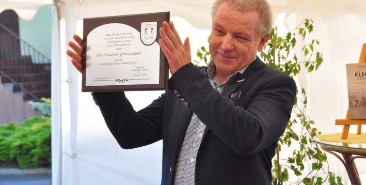 Maciej Grzeszczak zasłużony dla gminy Kleczew
