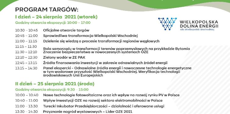 "Targi OZE "" Nowa Energia w Regionie"""